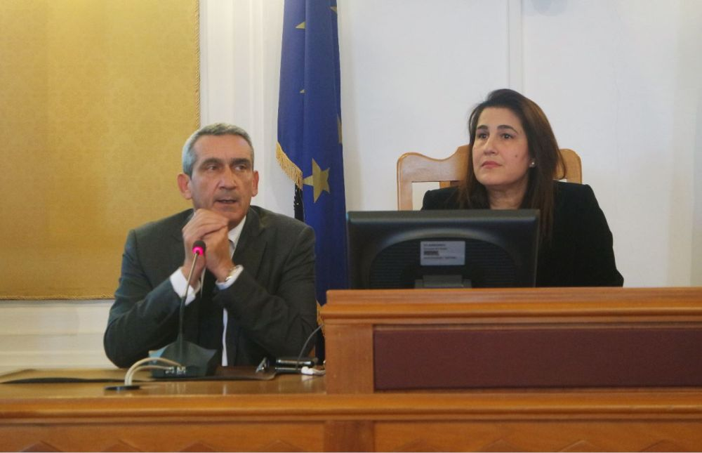 South Aegean Prefect, George Hadjimarkos and Vice Governor of Tourism, Marietta Papavasileiou.