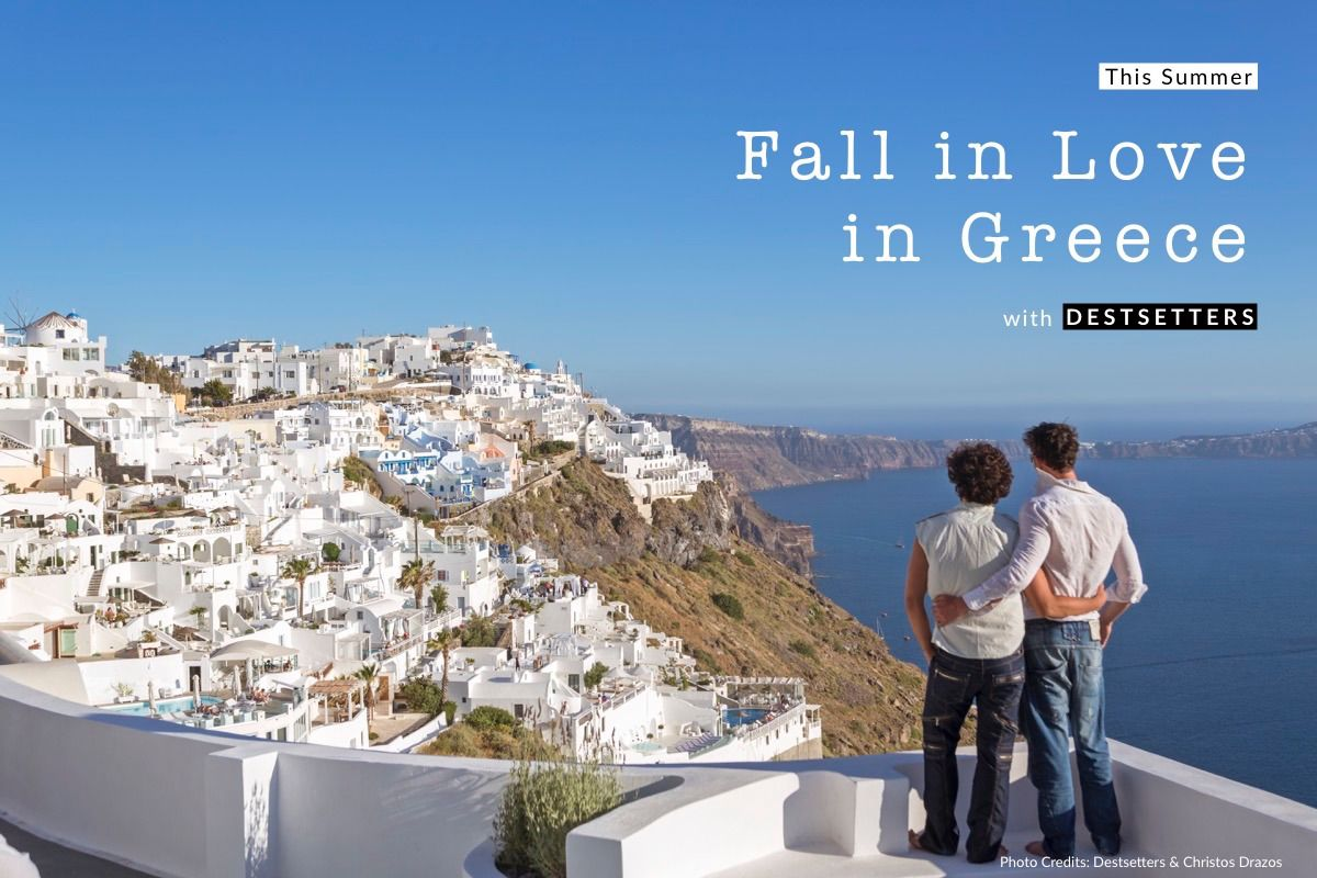 Destsetters: New Campaign to Promote Greece as Top Gay Destination.