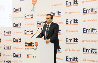 Turkey's Minister of Culture and Tourism, Mahir Unai.