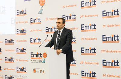 Turkey's Minister of Culture and Tourism, Mahir Unai.