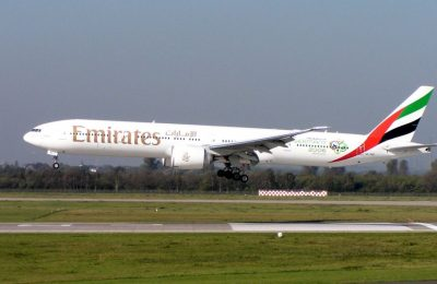 The Dubai-Larnaca-Athens service will be operated by a state-of-the-art Boeing 777-300ER aircraft.