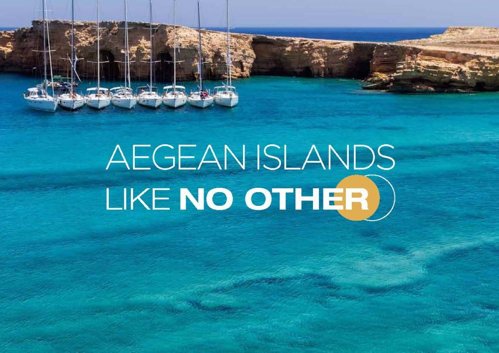 "South Aegean Region tourism campaign: ""Aegean Islands. Like No Other"""