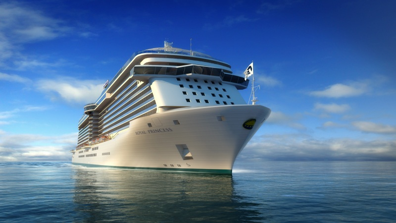 Princess Cruises' new vessel will be a sister ship to Royal Princess, Regal Princess and Majestic Princess.