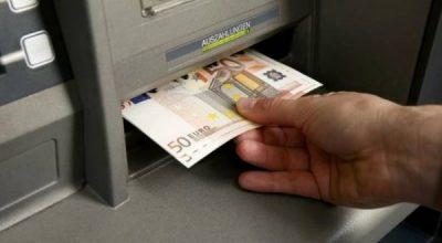 ATM machine in Greece.