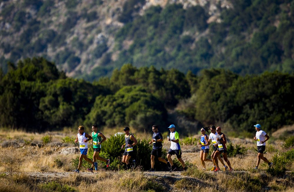 Marathon during the Navarino Challenge 2015 at Costa Navarino. (Photograph by Vladimir Rys)