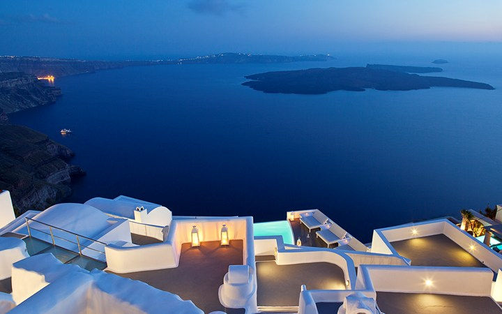 Chromata Up Style Hotel, Santorini.