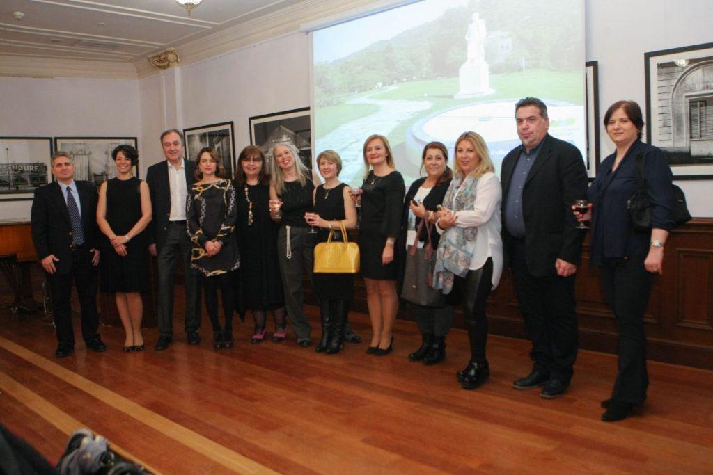 Mount Athos Area Organization event at the Istanbul's Sismanglio Megaron.