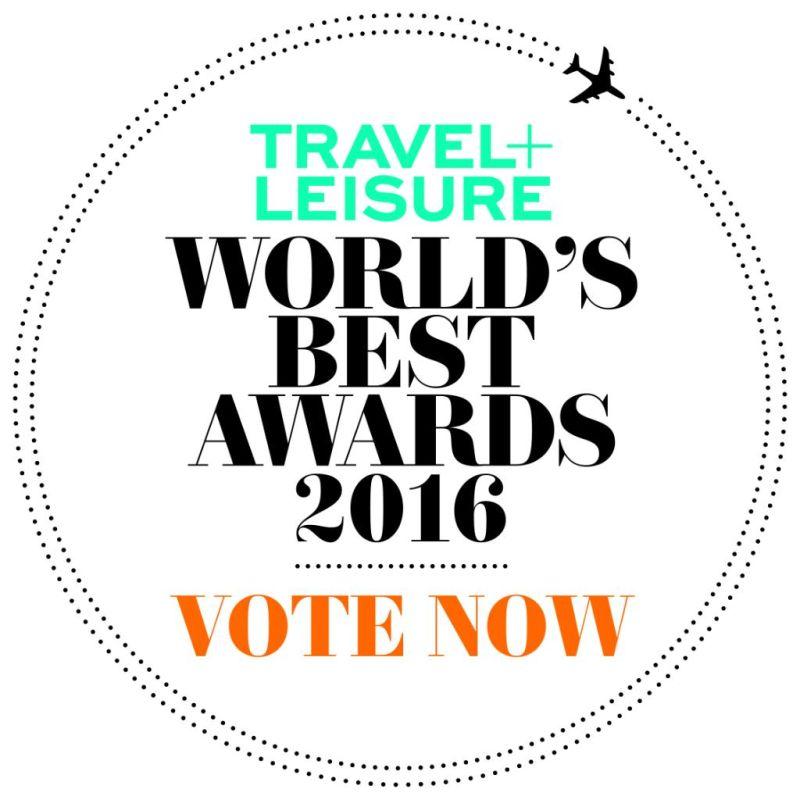 ... for Travel & Leisure's 2016 World's Best Awards - GTP Headlines