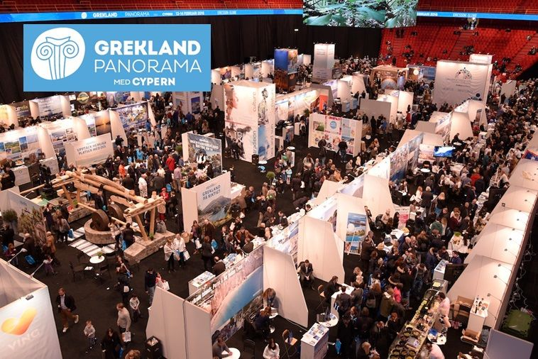 In just three years time, the Grekland Panorama Med Cypern has grown into one of the most reputable fairs of its kind, promoting Greece and its products to thousands of visitors in Sweden.