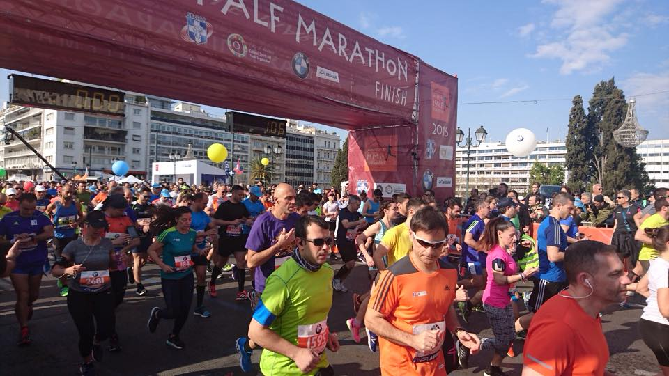 Athens Half Marathon 2016 - Photo © Vassilios Koutroumanos