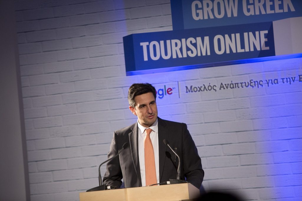 """The Greek National Tourism Organization supports Google's initiative to provide digital skills, tools and content production, which essentially ensures the competitiveness of the tourism sector in Greece and beyond"", said GNTO Secretary General Dimitris Tryfonopoulos."