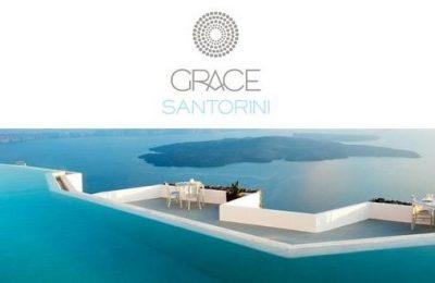 Grace Santorini Caldera view
