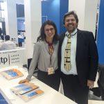 GTP's Maria Theofanopoulou with Aqua Vista Hotels CEO George Grafakos
