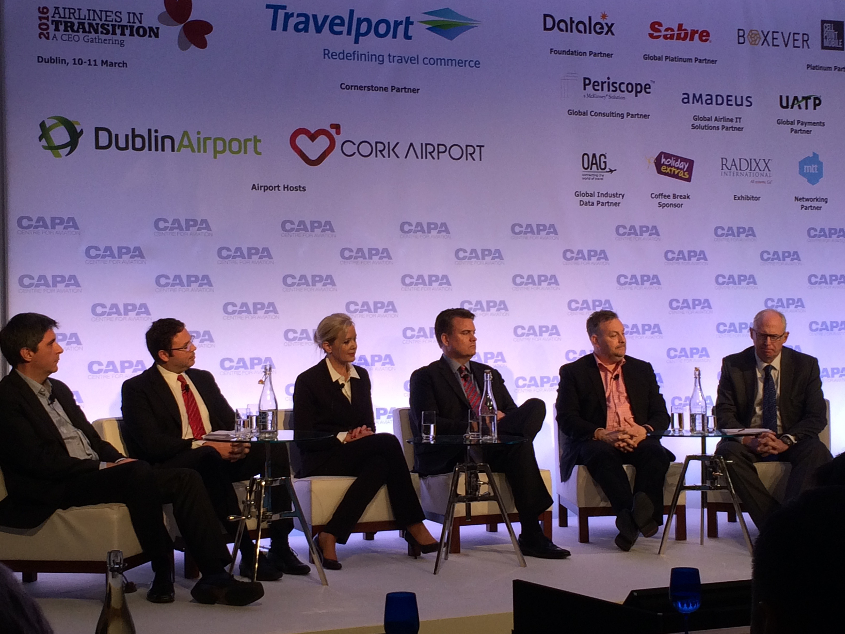 Panel discussion at the CAPA Summit 2016, Dublin