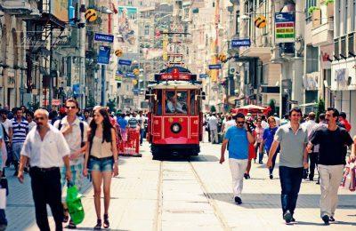 Istiklal Street, Istanbul.