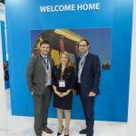 PR Media Co's Alexandros Konstantinou, Sofia Panayiotaki and Kiriakos Liolios
