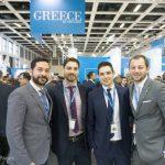 Alexandros Passalis, Alex Beach Hotel & Bungalows; Ilias Simopoulos, SIM Travel group; Panagiotis Batagiannis, Enavlion Hotel; and Nikolas Geronikolas, Eden Roc Resort Hotel & Bungalows