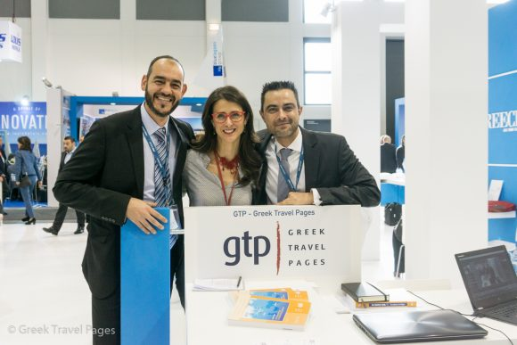 GTP - Charis Brousalian, Sales & Advertising Manager; Maria Theofanopoulou, Publisher; Nikos Krinis, Managing Editor