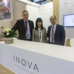 Andreas Birner, Managing Director; Michaela Kalaitzidou, Market Executive; and Stefanos Iliadis, Contracts & Revenue Manager
