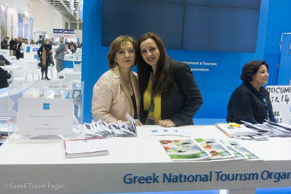 GNTO Germany's Olympia Tsioulakis and Maria Pampiri