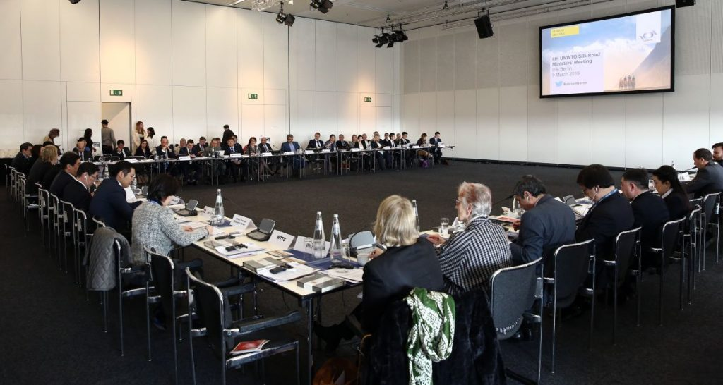 ITB Berlin 2016 - 6th UNWTO Silk Road Ministers' Meeting