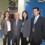 Minister Kountoura and the GNTO Secretary General Dimitris Tryfonopoulos with GTP's Maria Theofanopoulou, FEDHATTA's Lysnadros Tsilidis.