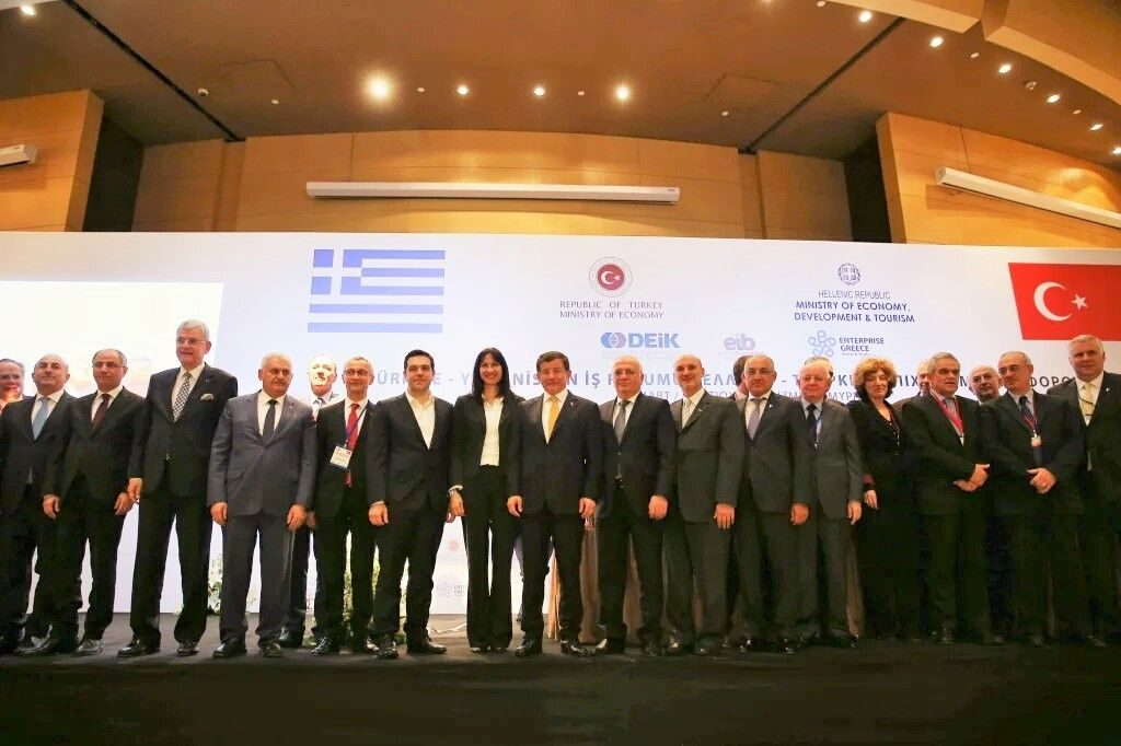 A large government delegation of 10 ministers and representatives of 36 Greek businesses and organisations, headed by Prime Minister Alexis Tsipras, participated in the 4th Supreme Greek-Turkish Cooperation Council which focused on trade, transport and tourism.