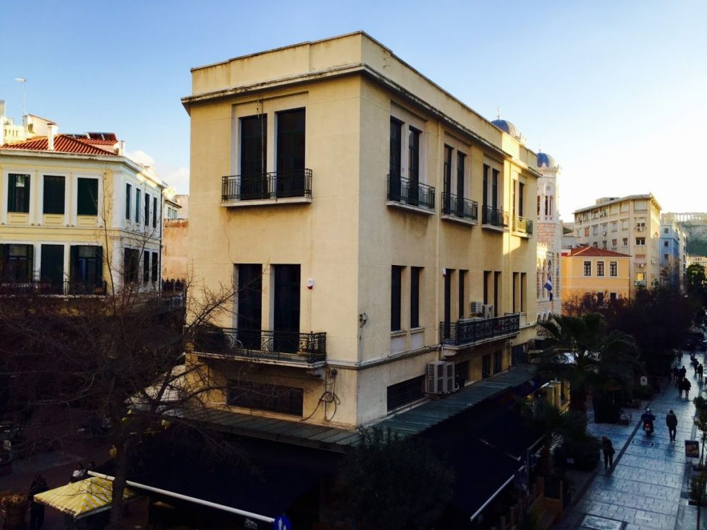 Nelios' new headquarters in the heart of Athens.