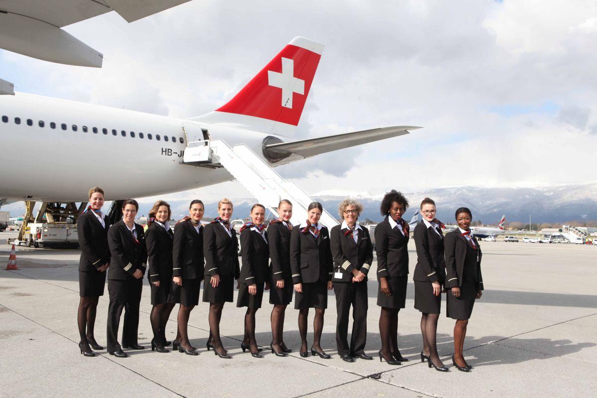 International Women S Day Swiss Flies To New York With An