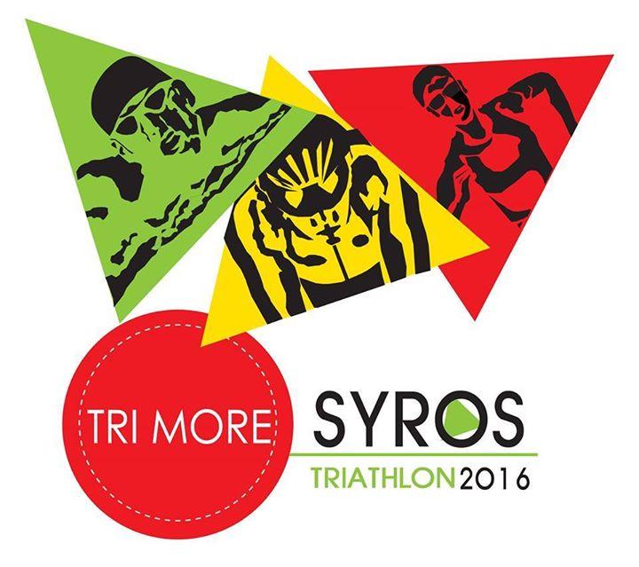 Syros TRIMORE Triathlon logo
