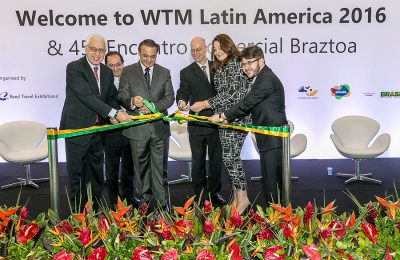 World Travel Market Latin America 2016, São Paulo, Brazil - Opening Ceremony