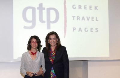 Maria Theofanopoulou, President and CEO of GTP|DANAE Group, received the Bronze