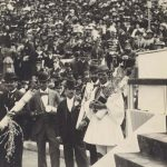 "The awarding of Spiridon ""Spyros"" Louis, the first modern-day Olympic Marathon winner at the 1896 Summer Olympics."