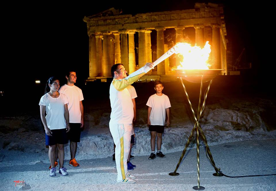 Rio 2016 Olympic Torch Reaching Final Destination In Greece