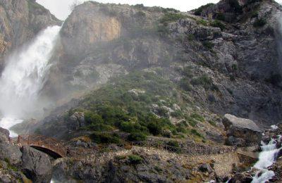 Tzoumerka waterfall.