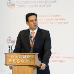 """The general secretary of the GNTO, Dimitris Tryfonopoulos, Secretary, underlined that the Russian tourism market is a """"strategic priority"""" and a """"continuous challenge"""" for the organization. He assured that the dynamic promotion of Greece in the Russian market will continue and will especially highlight the popular as well as the lesser-known Greek destinations suitable for visiting all four seasons."""