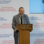 """Osaulenk Alexandr, the head of the """"Turpomosch"""" organization that sees to the safety of tourists abroad, invited Greek tourism professionals to form a closer relationship in order to have better cooperation when Russian tourists in Greece face problems."""