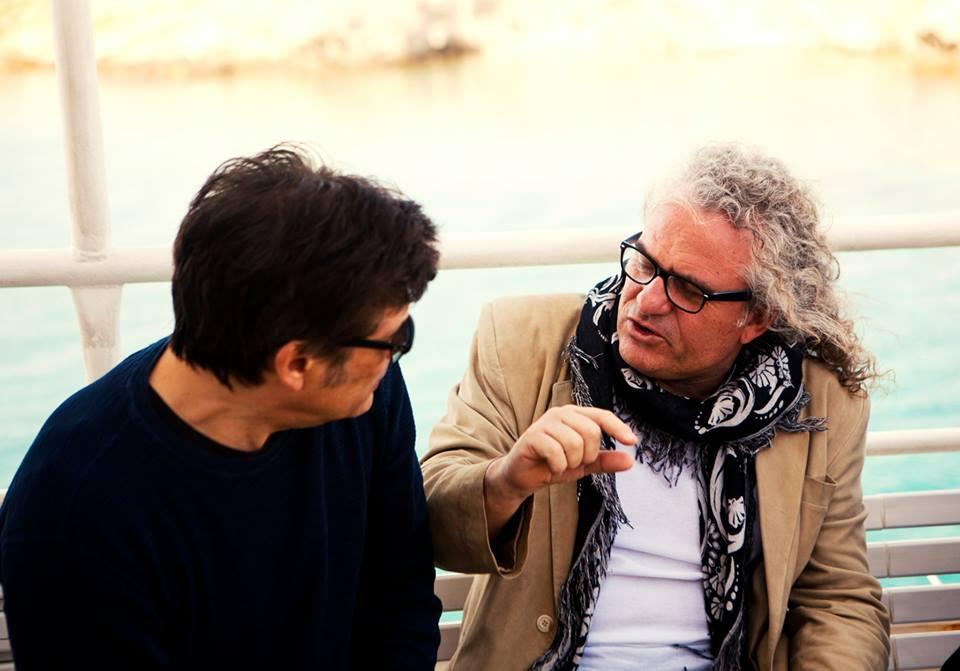 Delos 2015 Choraface & Kioukas discussing