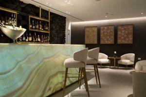 Grace Santorini champagne lounge 1