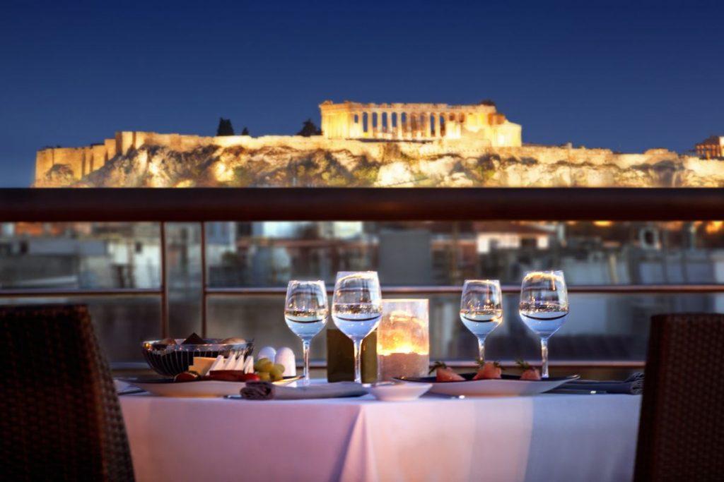 Melia_Athens-SkyDinner_Acropolis