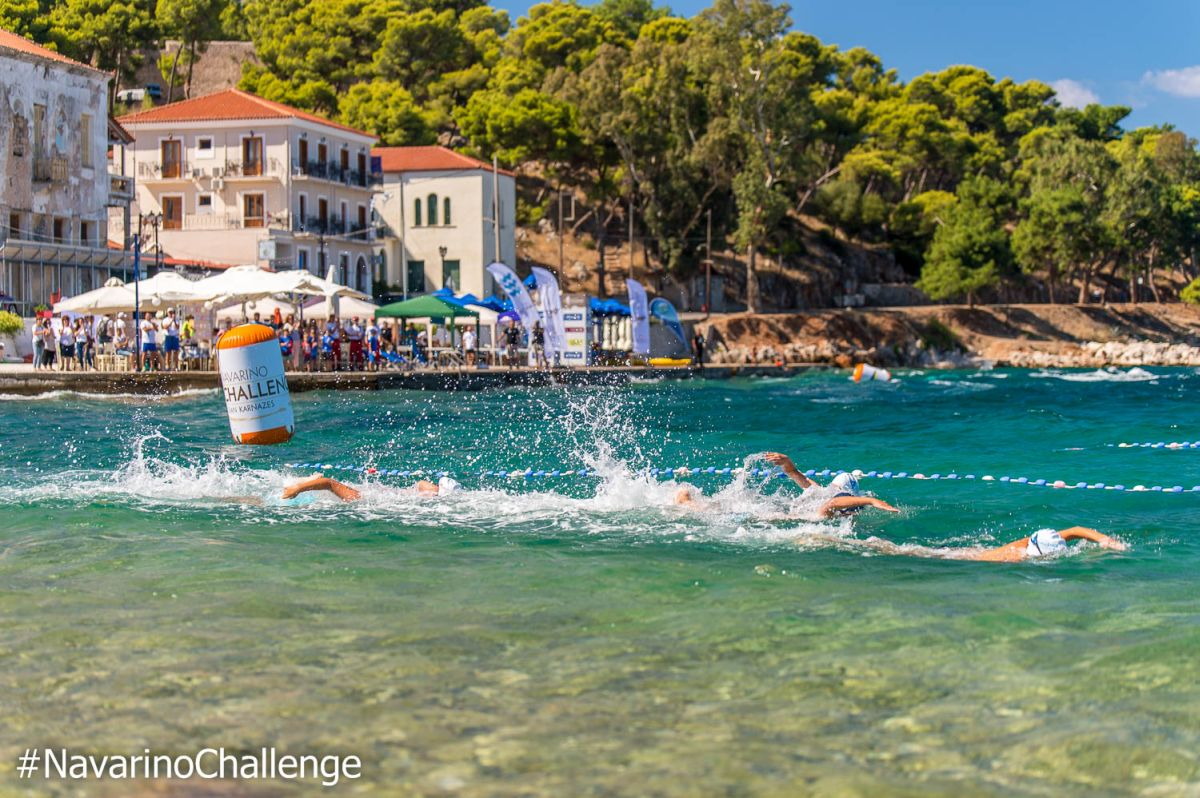 Swimming route in Pylos. Photo credit: Elias Lefas
