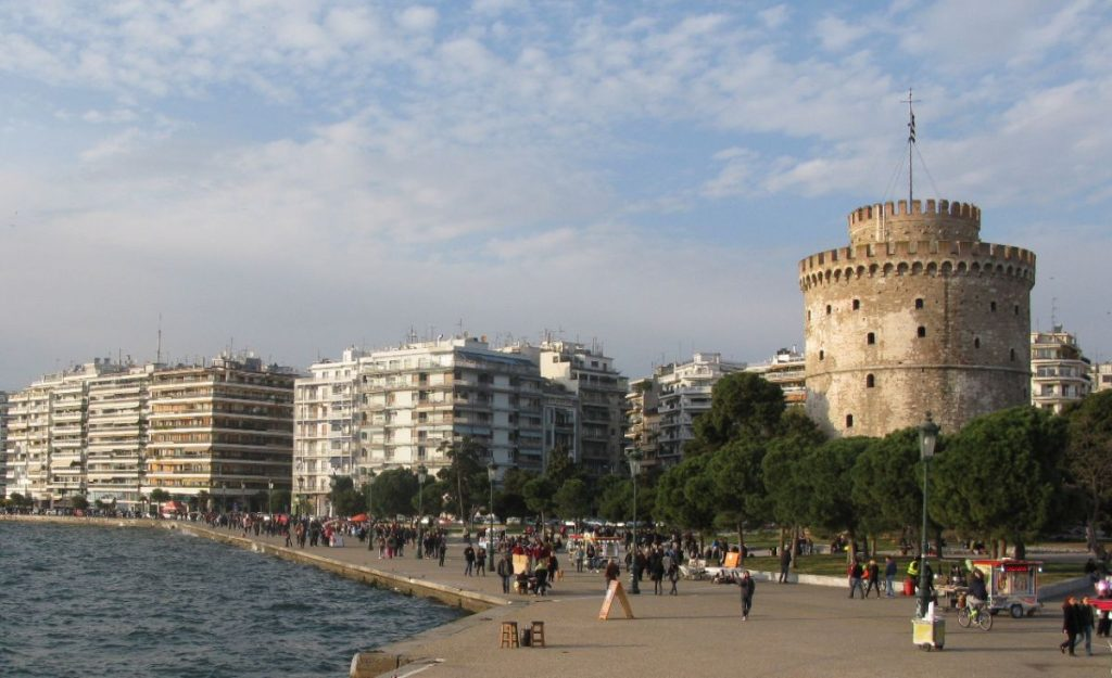 Thessaloniki, White Tower.