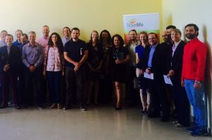 Attendees of the Travelife seminar held at the Apollo Blue Hotel in Rhodes.