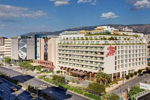 The Athens Ledra Hotel is expected to reopen later this year.