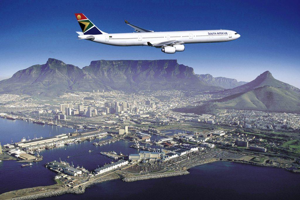 Airbus A340-600 Kapstadt