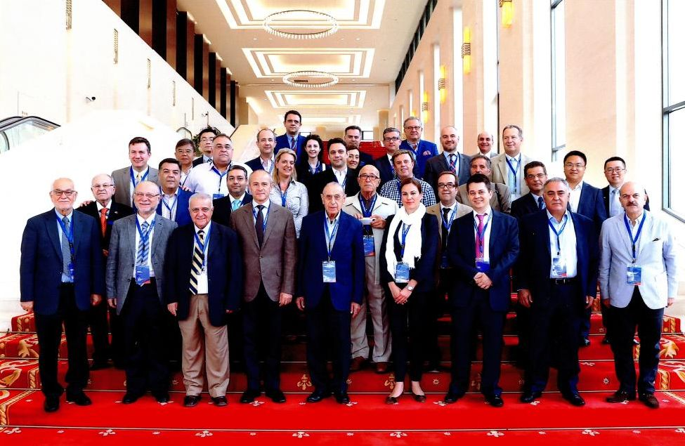 The business delegation of 40 Greek entrepreneurs that accompanied Prime Minister Alexis Tsipras during his recent visit to China.