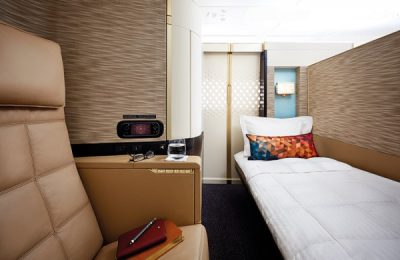 Etihad Airways First Apartment.