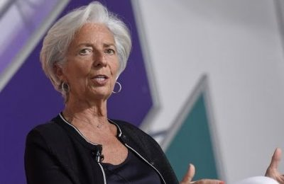 Christine Lagarde, Managing Director of the International Monetary Fund.