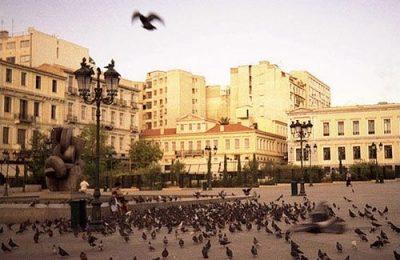 Kotzia Square, Athinas Street.