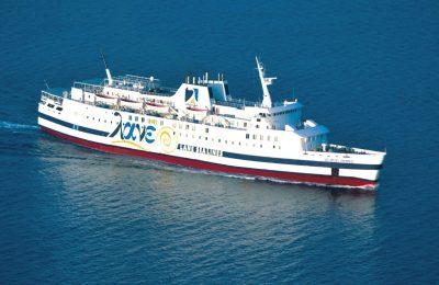 Vitsentzos Kornaros ferry boat, Lane Sea Lines.